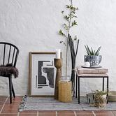 BloomingVille Grey Anouk I Stoneware Planter