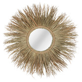 Maine & Crawford Natural Uli Grass Mirror
