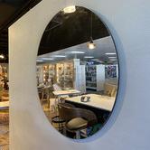 Maine & Crawford Melanie Circle Wall Mirror