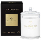 Glasshouse Fragrances 380g Arabian Nights Soy Scented Candle