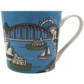 Maxwell & Williams Sydney Megan Mckean Cities 430ml Mug