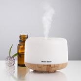 Serafino Homewares 500ml Amelia Mood Light Aroma Diffuser