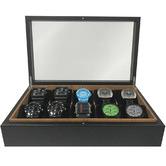 Urburn Birdseye Woodgrain Watch Box