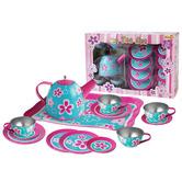 Kaper Kidz Kids' Blue & Pink Flower Tea Party Playset