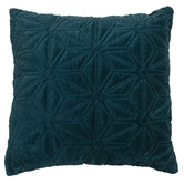 M Home Carlson Quilted Cotton Velvet Cushion