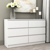 Cape Furniture Burton 6 Drawer Lowboy