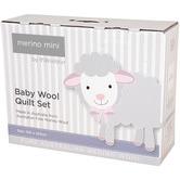 Woolstar Merino Mini Australian Merino Wool All Seasons Cot Quilt Set