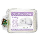 Woolstar 2 Piece Woolstar Baby All Seasons Wool Quilt Set