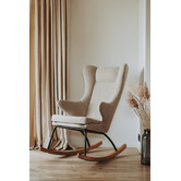 Quax Quax Clay Deluxe Upholstered Rocking Chair