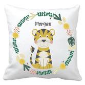 Happy Joy Décor Tiger Personalised Cotton Cushion