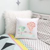 Happy Joy Décor Hot Air Balloon Personalised Cotton Cushion