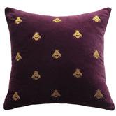 MM Linen Buzz Square Cotton Velvet Cushion