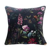 MM Linen Black Maisie Velvet Cushion