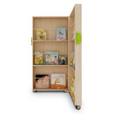 Zen Home Kids' Foldable Bookshelf