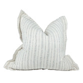 Macey & Moore Stripe Agen Pure French Linen Cushion