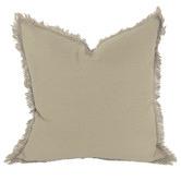 Macey & Moore Fringed Hazelhurst French Linen Cushion