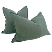 Macey & Moore Stonewashed Reims French Linen Cushion