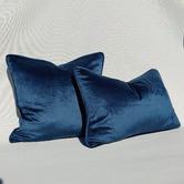 Macey & Moore The Boulevarde Luxe Velvet Rectangular Cushion