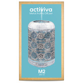 Activiva 260ml Metal Aroma Diffuser with Essential Oil