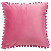 Luxton Pom Pom Velvet Cushion Cover