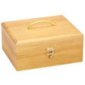 Aromamatic Pine Wood 30 Slot Essential Oil Storage Box