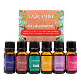 Aromamatic 6 Piece 10ml Aromamist Best Selling Blends Essential Oil Set