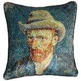 Bedding House x Van Gogh Blue Van Gogh Cushion