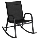 Ever Dreaming Living Arden High Back Outdoor Rocking Chair