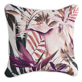 Willow Home & Living Blush Paradise Linen-Blend Cushion Cover