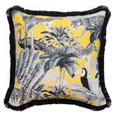 Willow Home & Living Safari Dreams Linen-Blend Cushion Cover