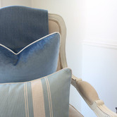 Willow Home & Living Kosma Rectangular Linen-Blend Cushion Cover