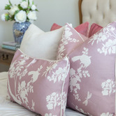 Willow Home & Living Louis Linen-Blend Cushion Cover