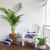 Willow Home & Living Alba Linen-Blend Cushion Cover