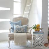 Willow Home & Living Louis Rectangular Linen-Blend Cushion Cover