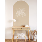 Siesta Walls Sand Paradise Palm Reusable Archway Decal