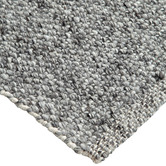 Visionary Living Silver JH Roderick Hand-Woven Wool-Blend Rug