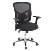 Fluent Black Fluent Mesh Back Office Chair