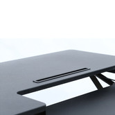Hilift Black Hilift Sit & Stand Desk with Keyboard Tray