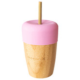 Eco Rascals Eco Rascals 210ml Bamboo & Silicone Cup with Straw