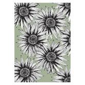 Frianki Sage Sunflowers Everywhere Unframed Paper Print