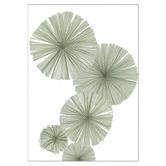 Frianki Fan Palms Alone Unframed Paper Print