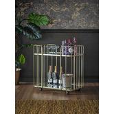 Beautiful Home & Living Champagne Verna Bar Cart