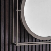 Beautiful Home & Living 3 Piece Hegre Iron Wall Mirror