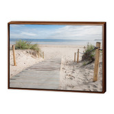 Art Illusions Beach Path Canvas
