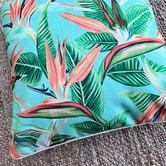 Sunshine Style Faith Platinum Outdoor Cushion Cover