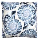 Sunshine Style Shells Platinum Outdoor Cushion Cover
