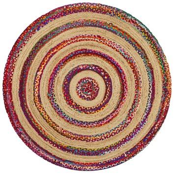 Network Radiant Jasmine Hand Braided Multi Coloured Rug