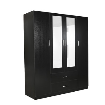 Mikasa Furniture Zanda Wardrobe With Mirrors Amp Reviews