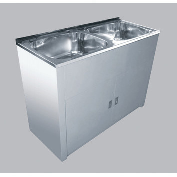 special kitchen cabinets 45l lavassa bowl laundry tub with by pass kit 26507