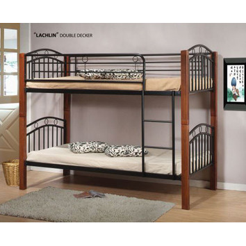 Bunk Bed Timber Posts Converts To Two Single Beds In